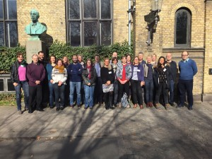 Attendees at copenhagen workshop