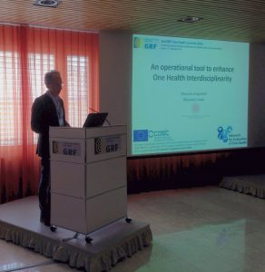 Massimo Canali presenting