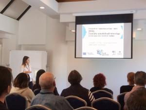 Marilena Filippitzi presenting
